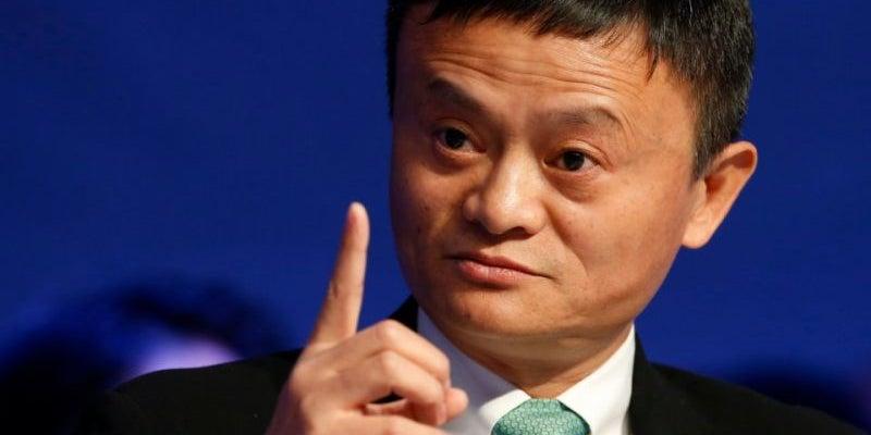 9. Jack Ma, executive chairman of Alibaba Group