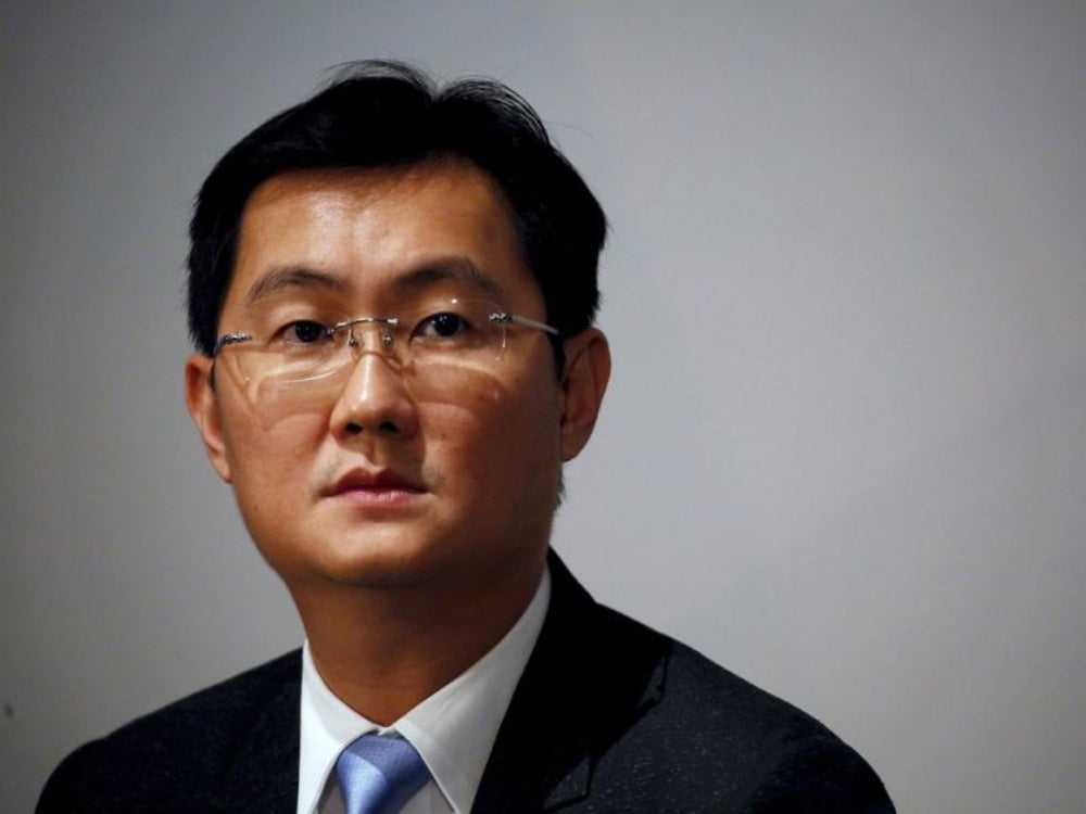 8. Pony Ma Huateng, CEO of Tencent