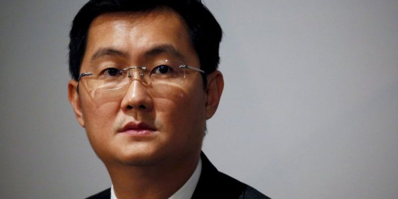 8. Pony Ma Huateng, CEO of Tencent