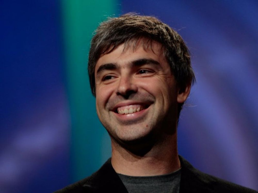 6. Larry Page, cofounder of Google