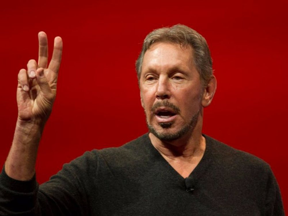 5. Larry Ellison, executive chairman of Oracle