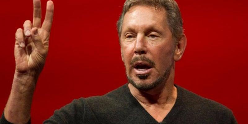 5. Larry Ellison, executive chairman of Oracle