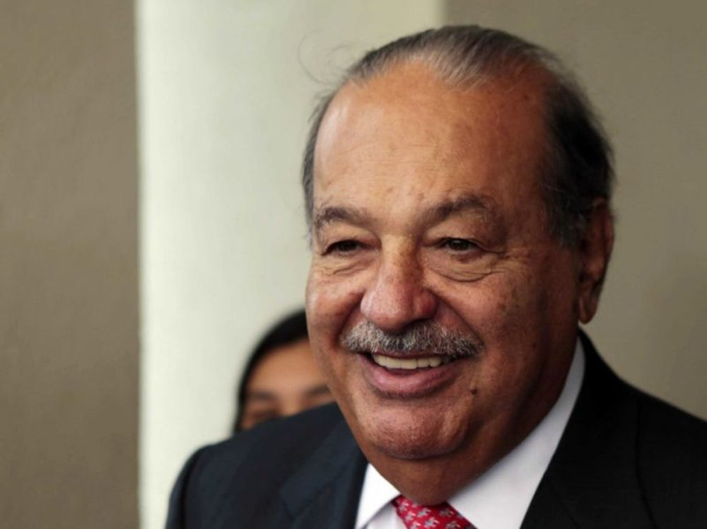 5. Carlos Slim Helú, director of America Movil