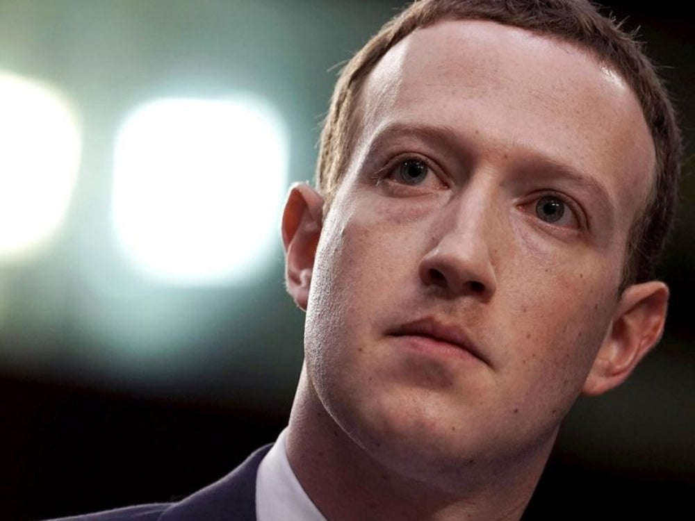 3. Mark Zuckerberg, CEO of Facebook