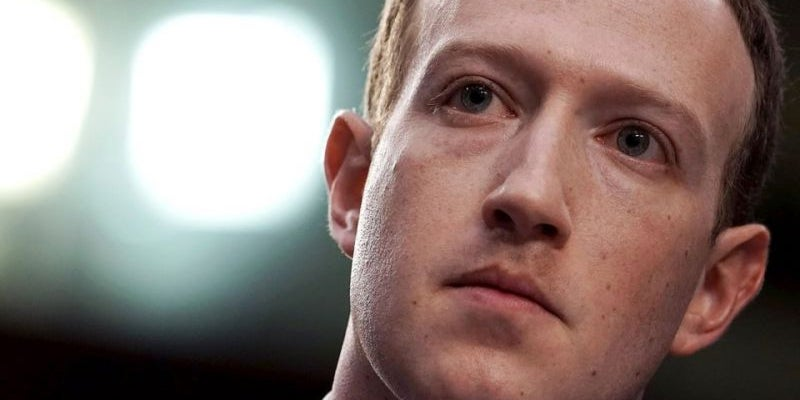 3. Mark Zuckerberg, CEO of Facebook