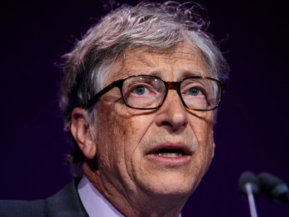 2. Bill Gates, cofounder of Microsoft