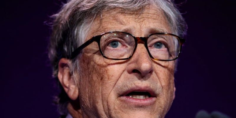 2. Bill Gates, cofounder of Microsoft