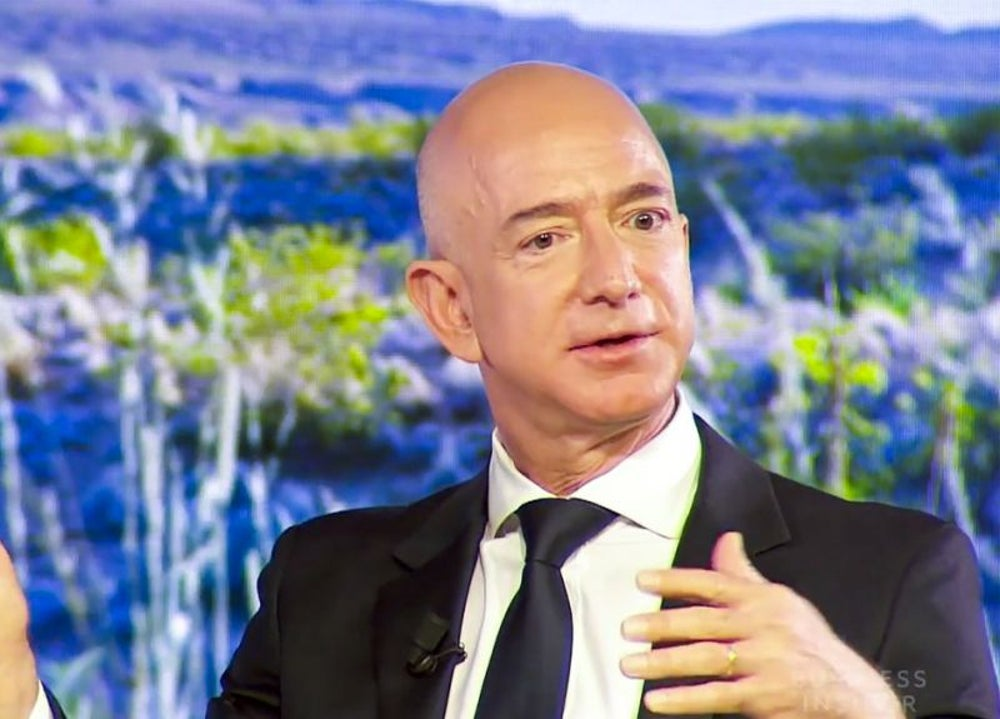 1. Jeff Bezos, CEO of Amazon