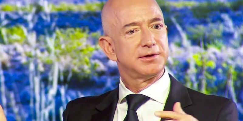 1. Jeff Bezos, CEO of Amazon