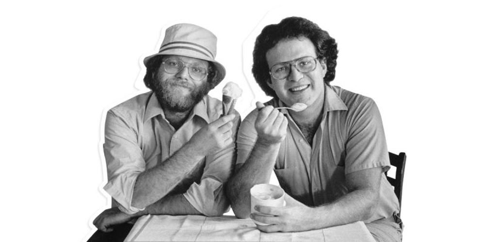Ben Cohen and Jerry Greenfield, Ben & Jerry's