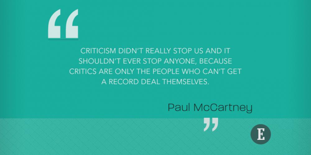 On criticism