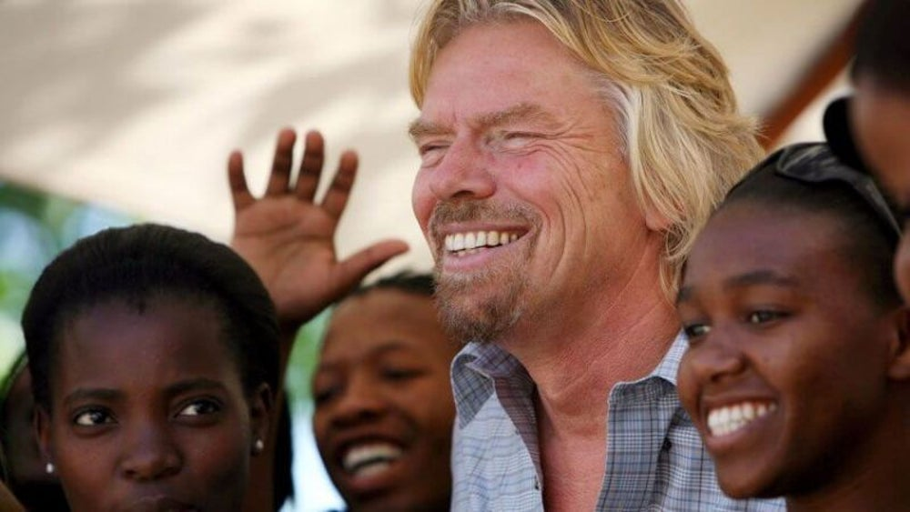 Richard Branson's Virgin Unite