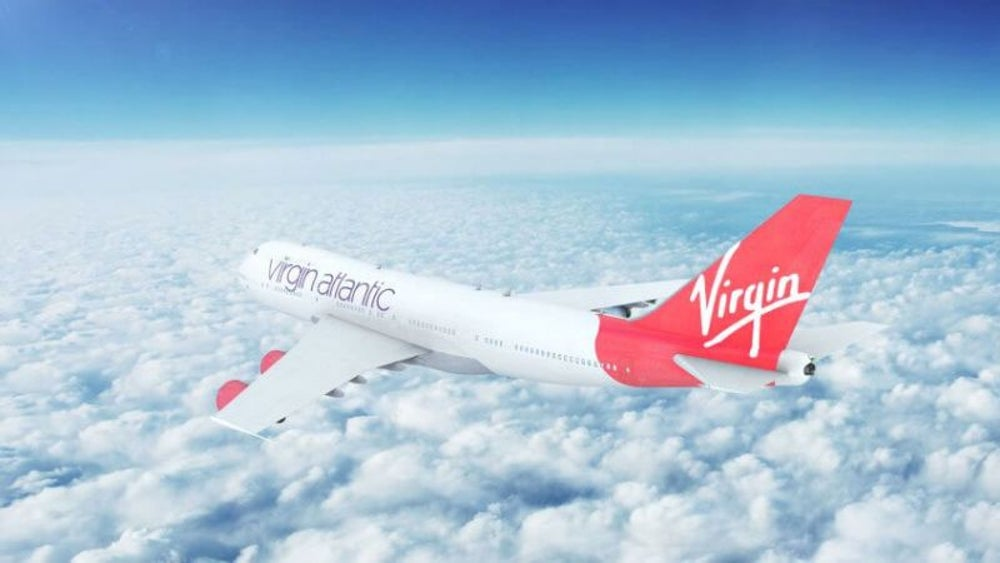 Richard Branson's Virgin Airlines