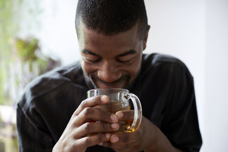 Drink chamomile tea.
