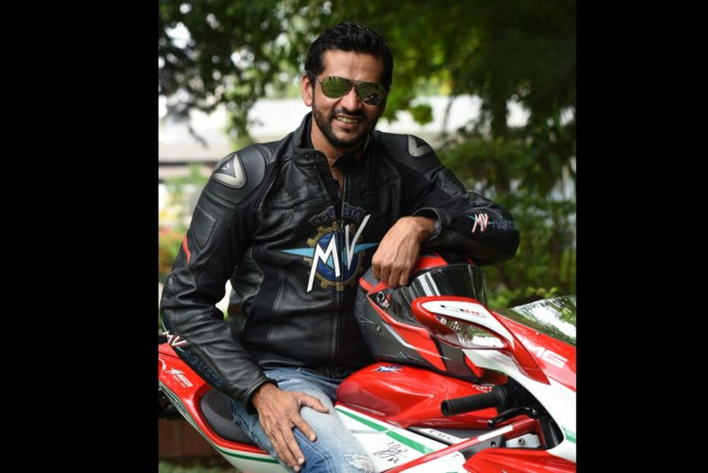 The New-Age Biker - Ajinkya Firodia