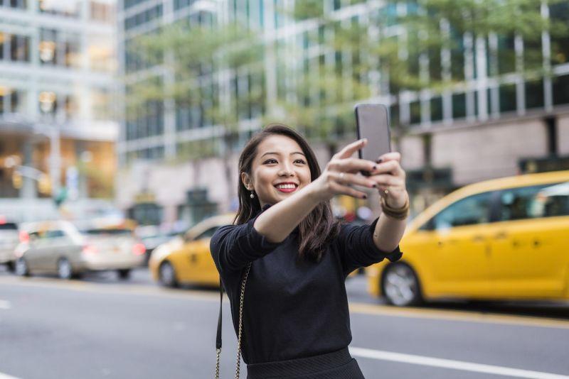 Take a selfie.
