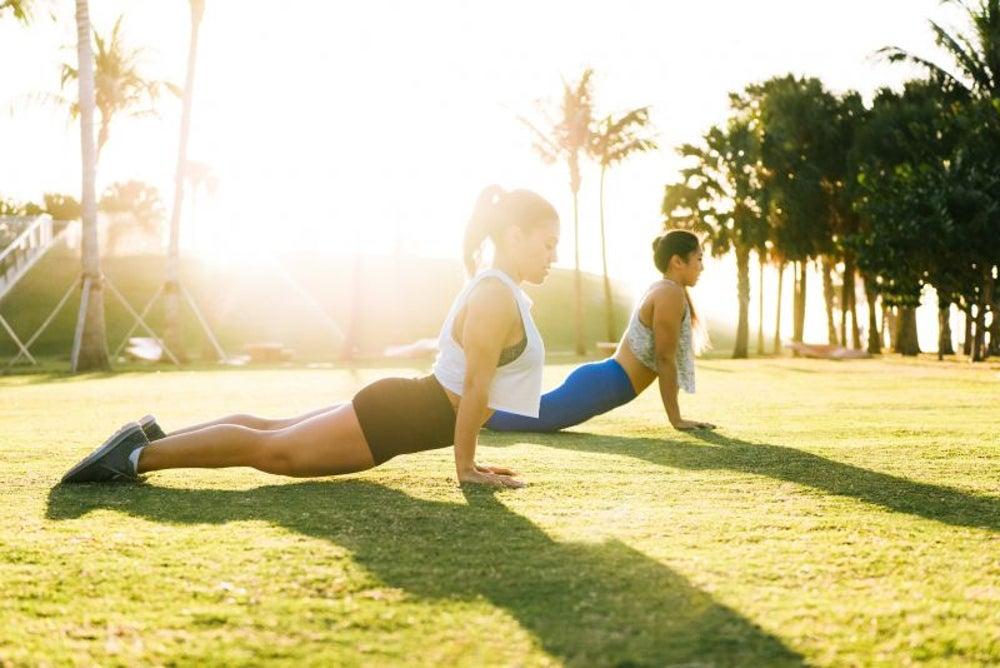 Exercise outside.