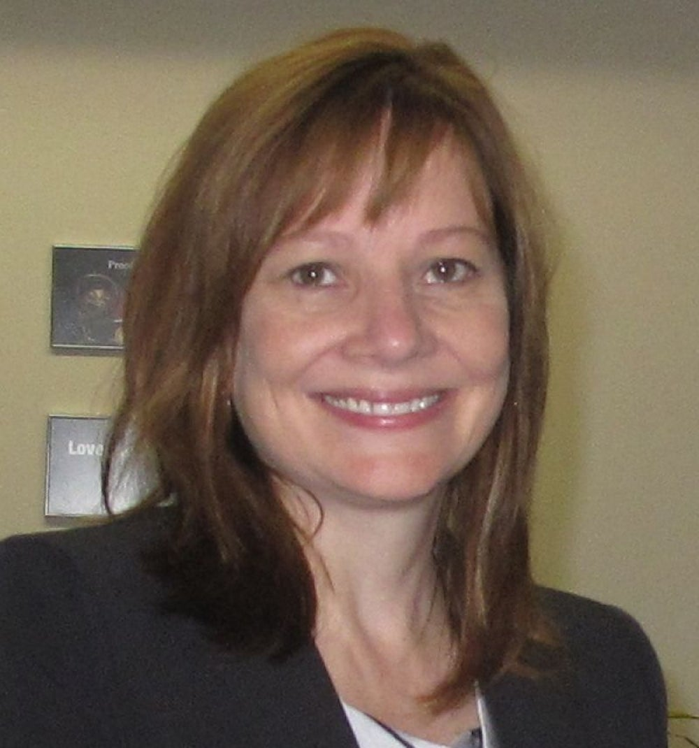 Mary T Barra, CEO, General Motors