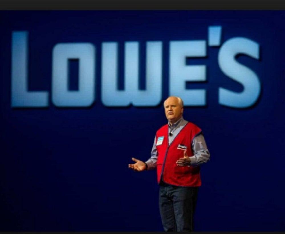 Robert Niblock, CEO, Lowe's Companies
