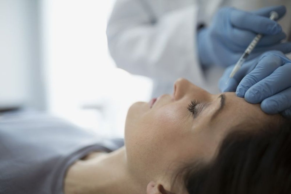 A woman was arrested for running an illegal botox clinic.