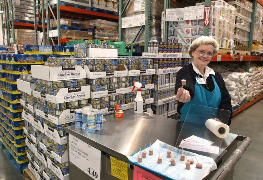 Two elderly men fought over free samples at Costco.