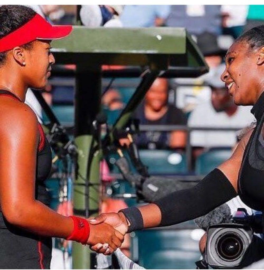 Serena Williams is Naomi Osaka's Idol