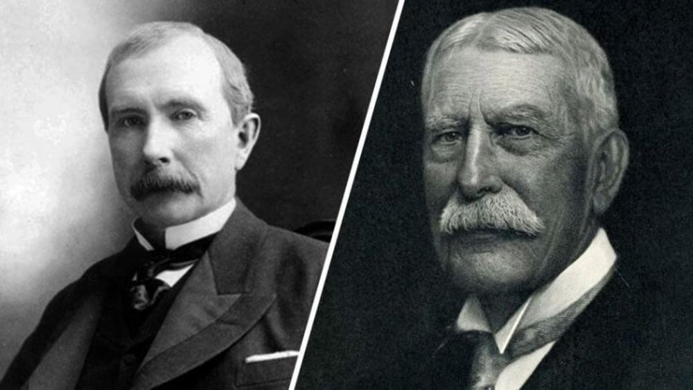 John D. Rockefeller and Henry Flagler: Standard Oil