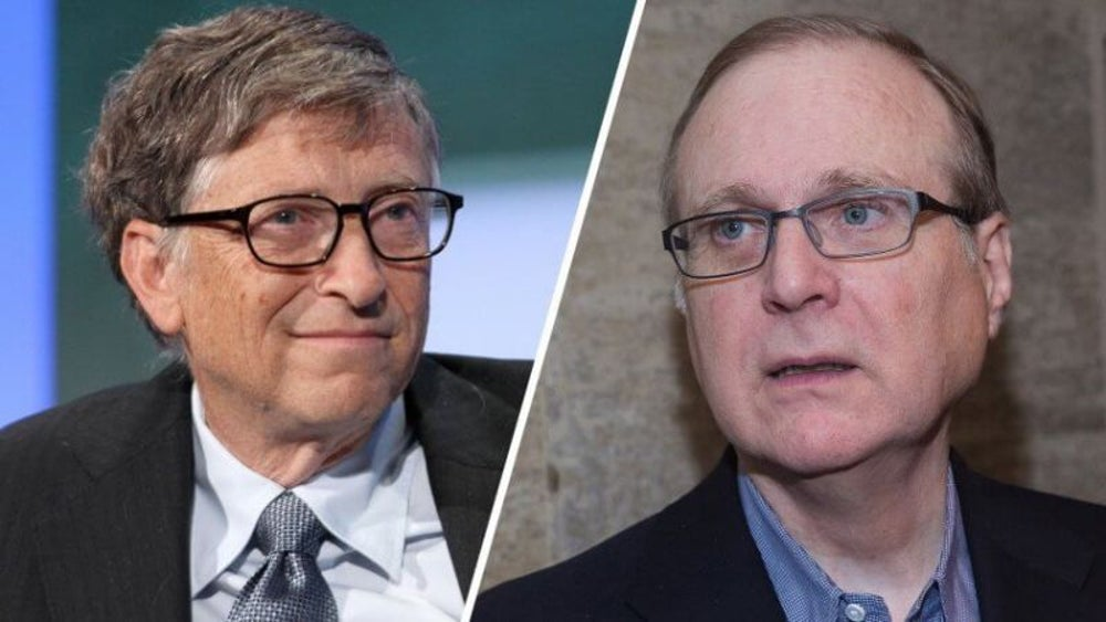 Bill Gates and Paul Allen: Microsoft