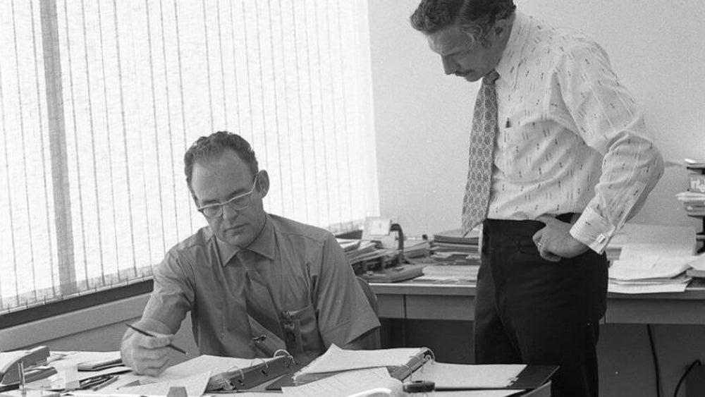 Gordon Moore and Bob Noyce: Intel