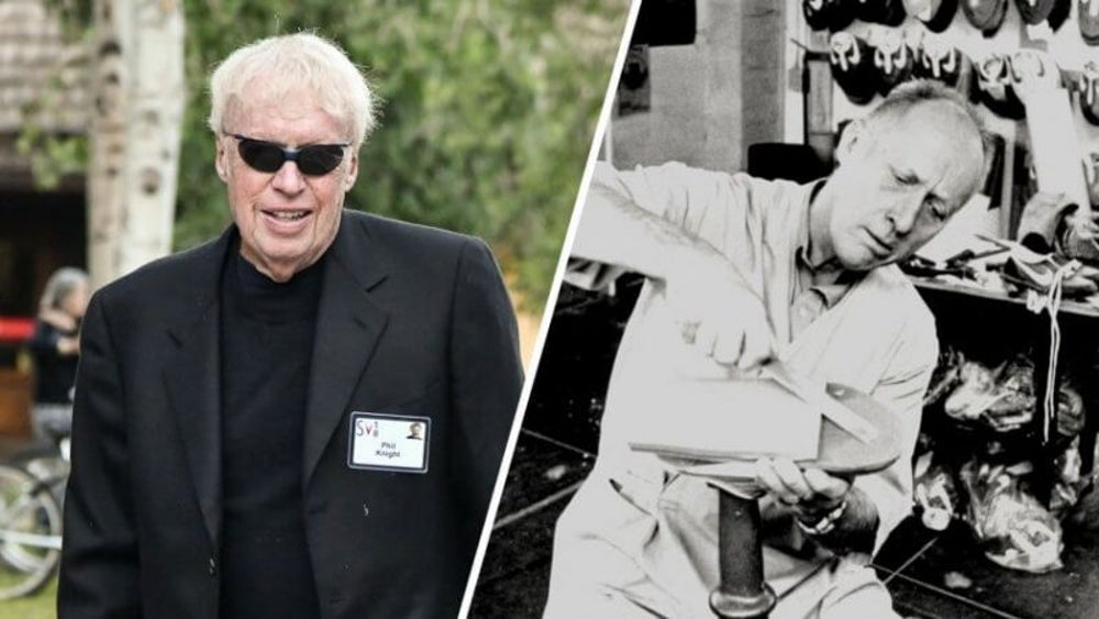 Bill Bowerman and Phil Knight: Nike