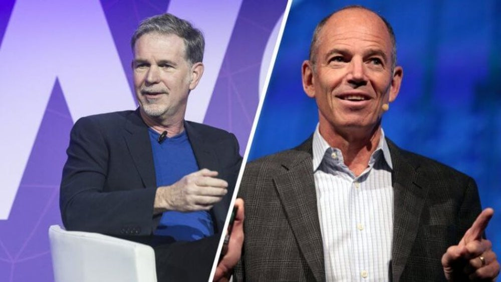 Reed Hastings and Marc Randolph: Netflix