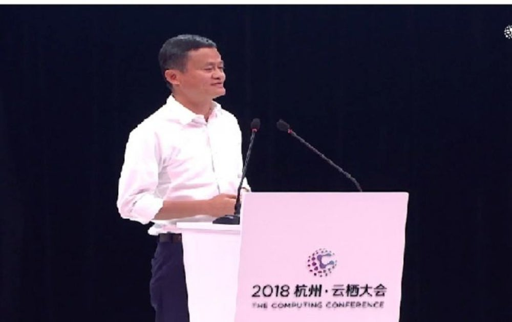 Jack Ma, Co-founder and Chairman of Alibaba