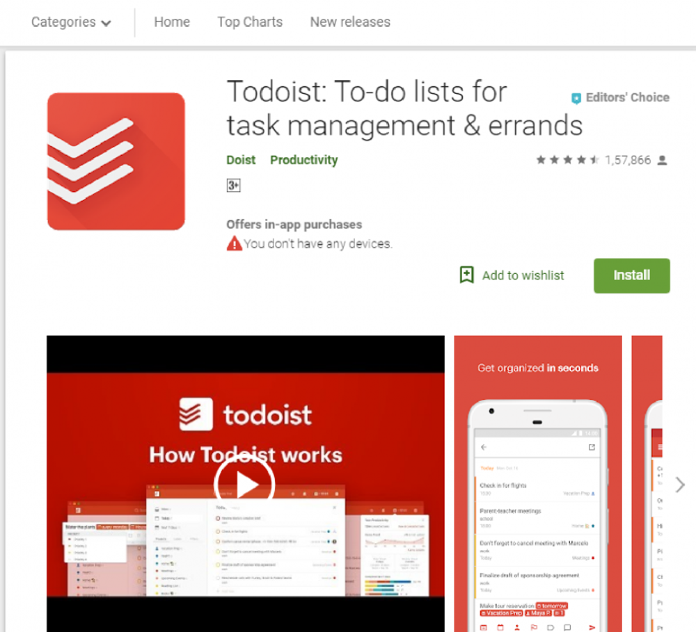 Todoist (Web, Android, iOS, Windows, Mac)