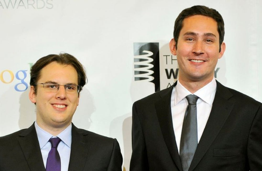 Instagram Co-founders - Kevin Systrom & Mike Kreiger