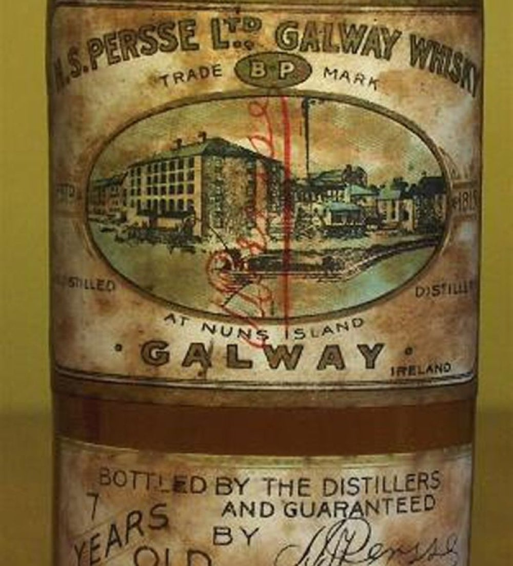 Nun's Island, Galway Distillery, 20-Year-Old Pure Pot Still Whiskey, $200,000