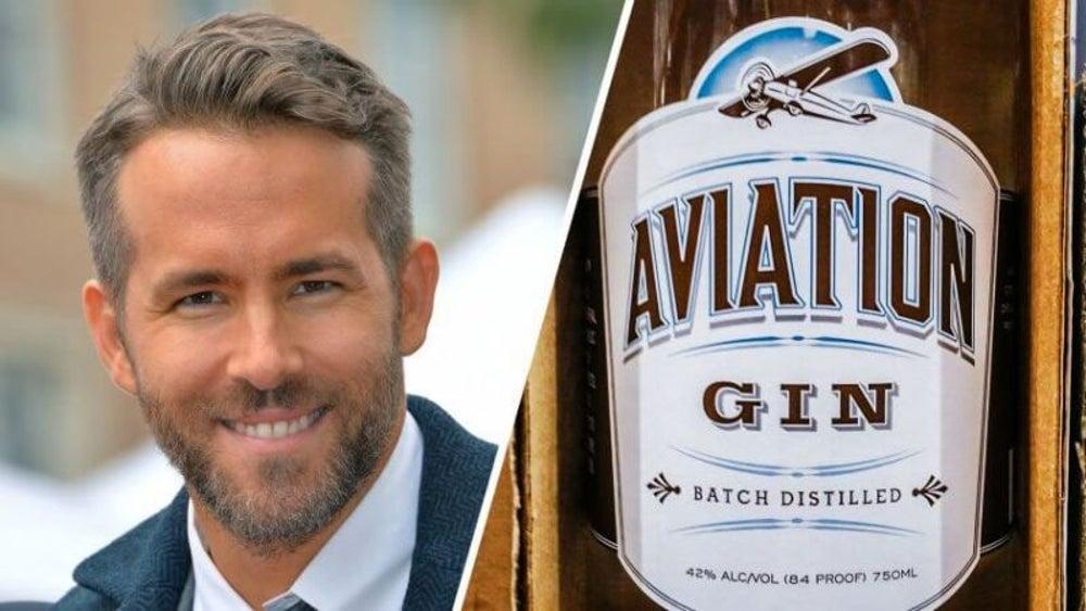 Aviation Gin, Ryan Reynolds