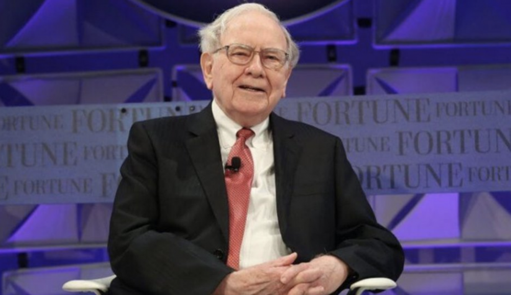 1. Warren Buffet: CEO, Berkshire Hathaway