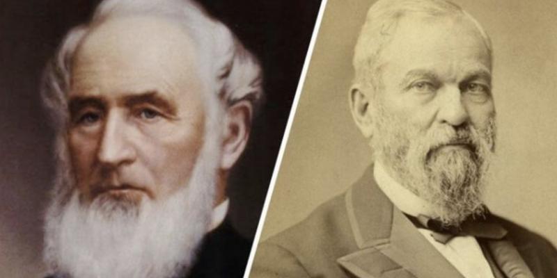 2. Henry Wells and William G. Fargo: Wells Fargo