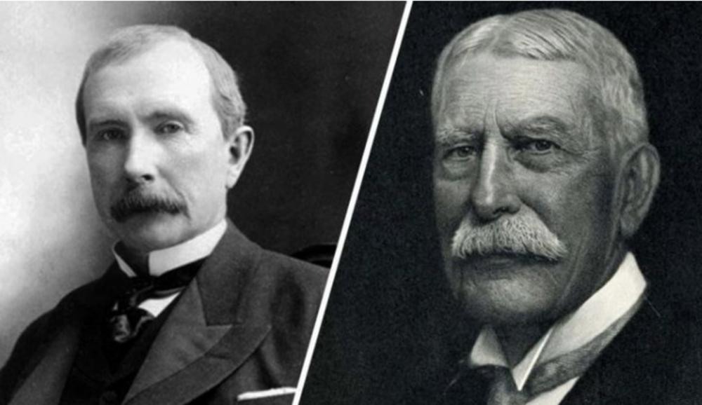 3. John D. Rockefeller y Henry Flagler: Standard Oil