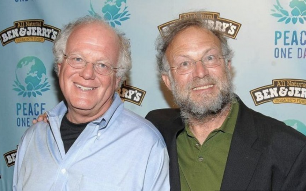 6. Ben Cohen y Jerry Greenfield: Ben & Jerry's