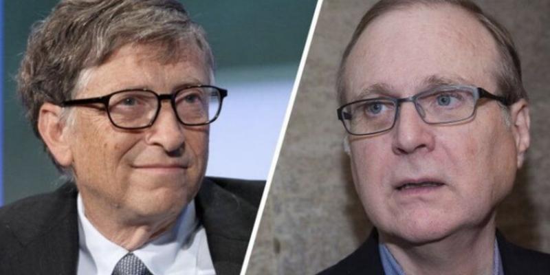 7. Bill Gates y Paul Allen: Microsoft