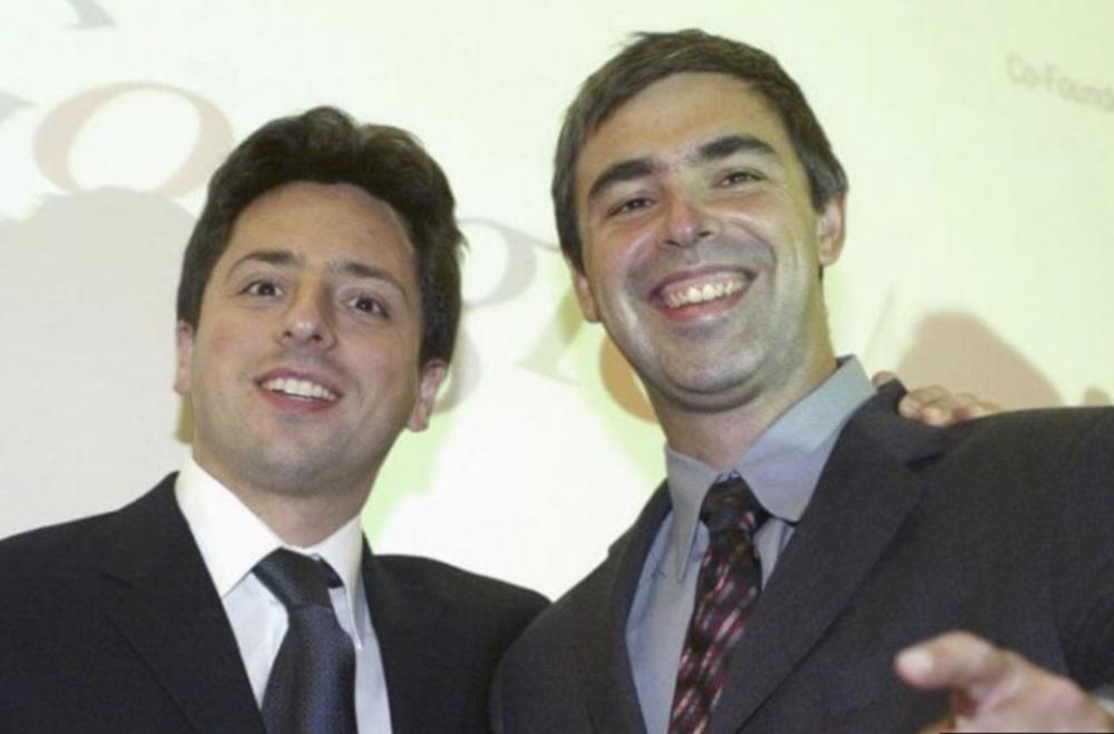 10. Larry Page y Sergey Brin: Google