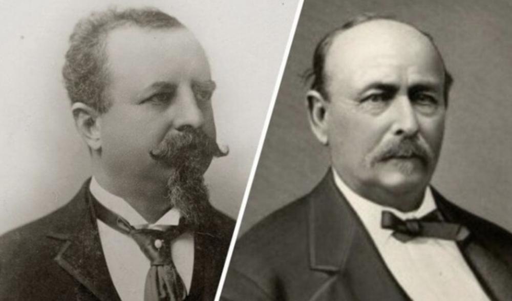 21. Adolphus Busch y Eberhard Anheuser: Anheuser - Busch