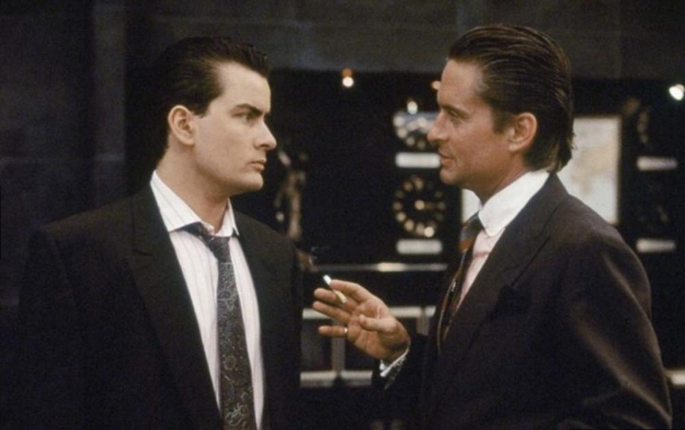 El poder y la avaricia (Wall Street, 1987)