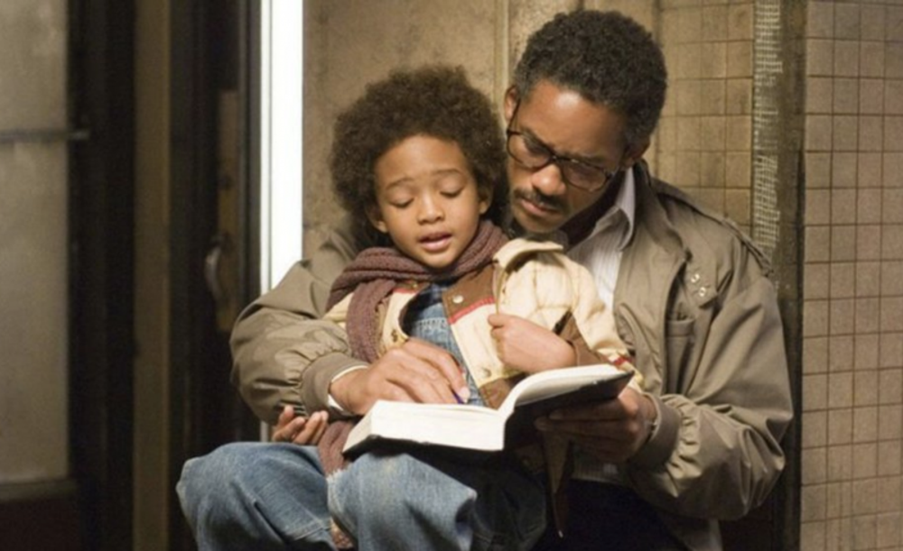 In search of happiness (The Pursuit of Happyness, 2006)
