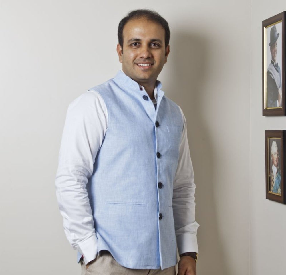 Istayak Ansari, Co-founder & Director Lloyds Luxuries