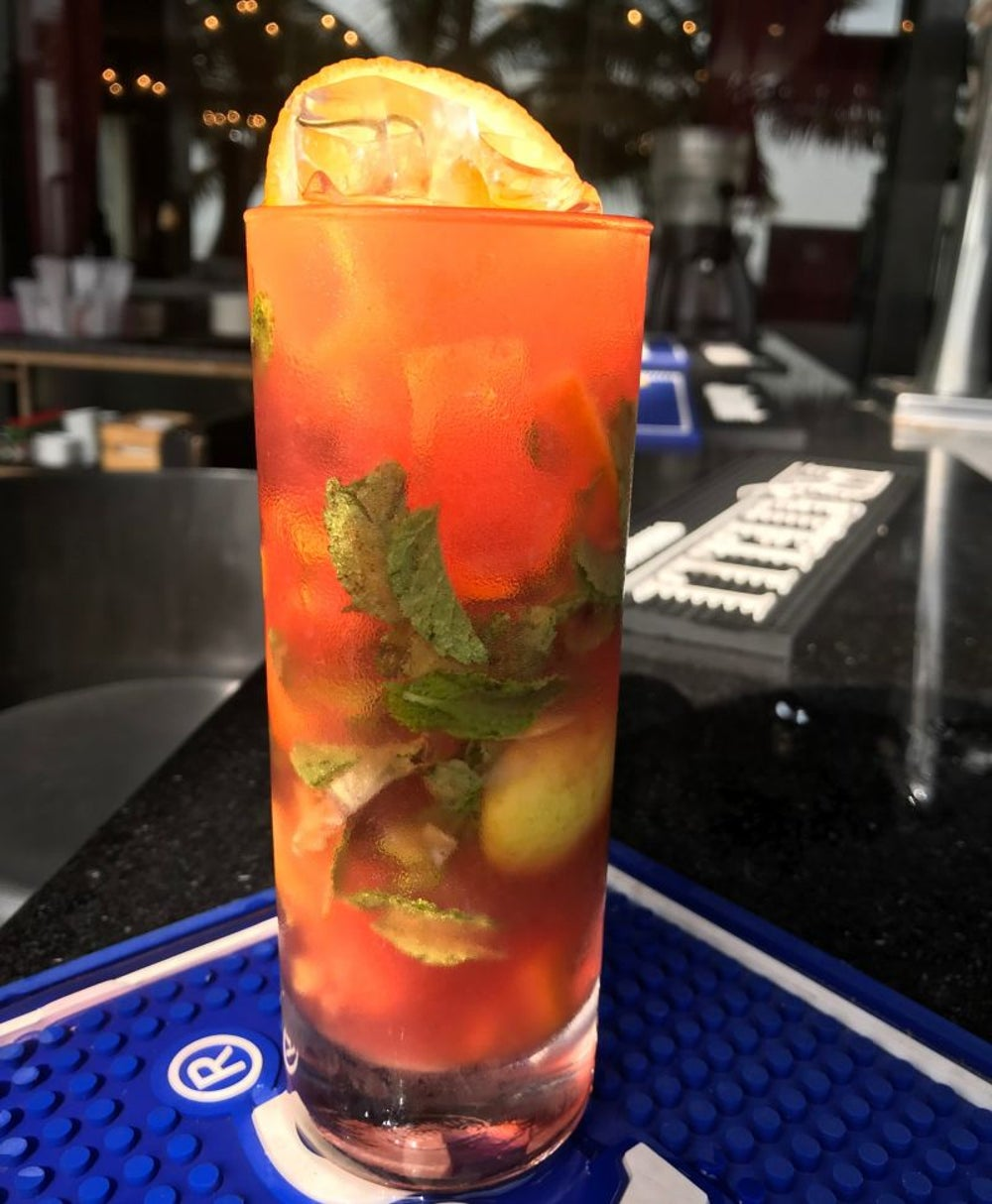 Campari Mojito – Combination of Three Flavours