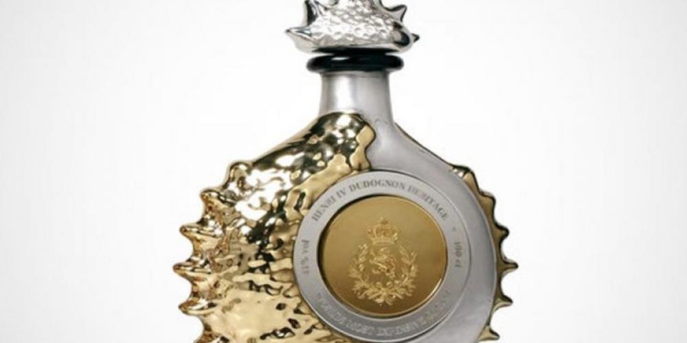 9. Henri IV Dudognon Heritage Cognac Grande Champagne a 2 millones de dólares (40.5 millones de pesos)