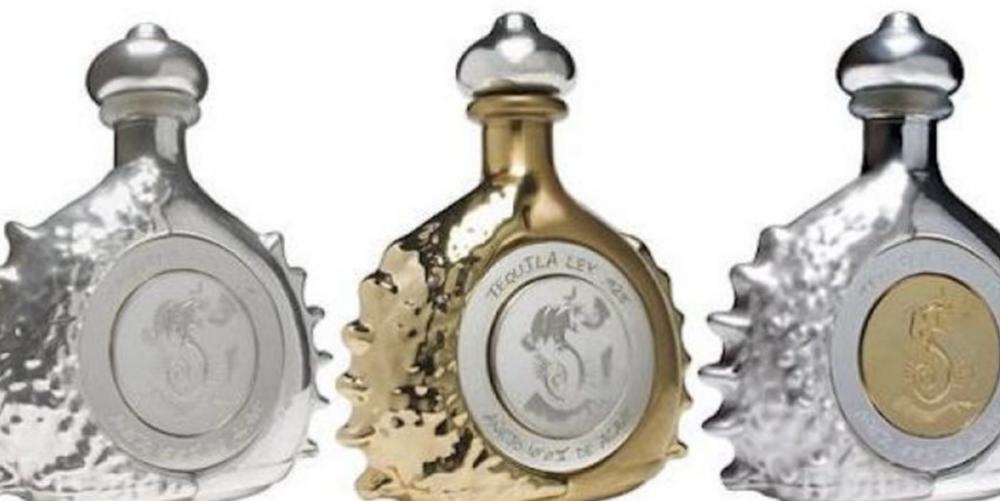10. Pasión Azteca, Platinum Liquor Bottle de Tequila Ley a 3.5 millones de dólares (70.9 millones de pesos)