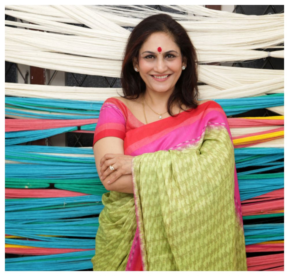 Jyoti Reddy- Founder of Ereena Silk